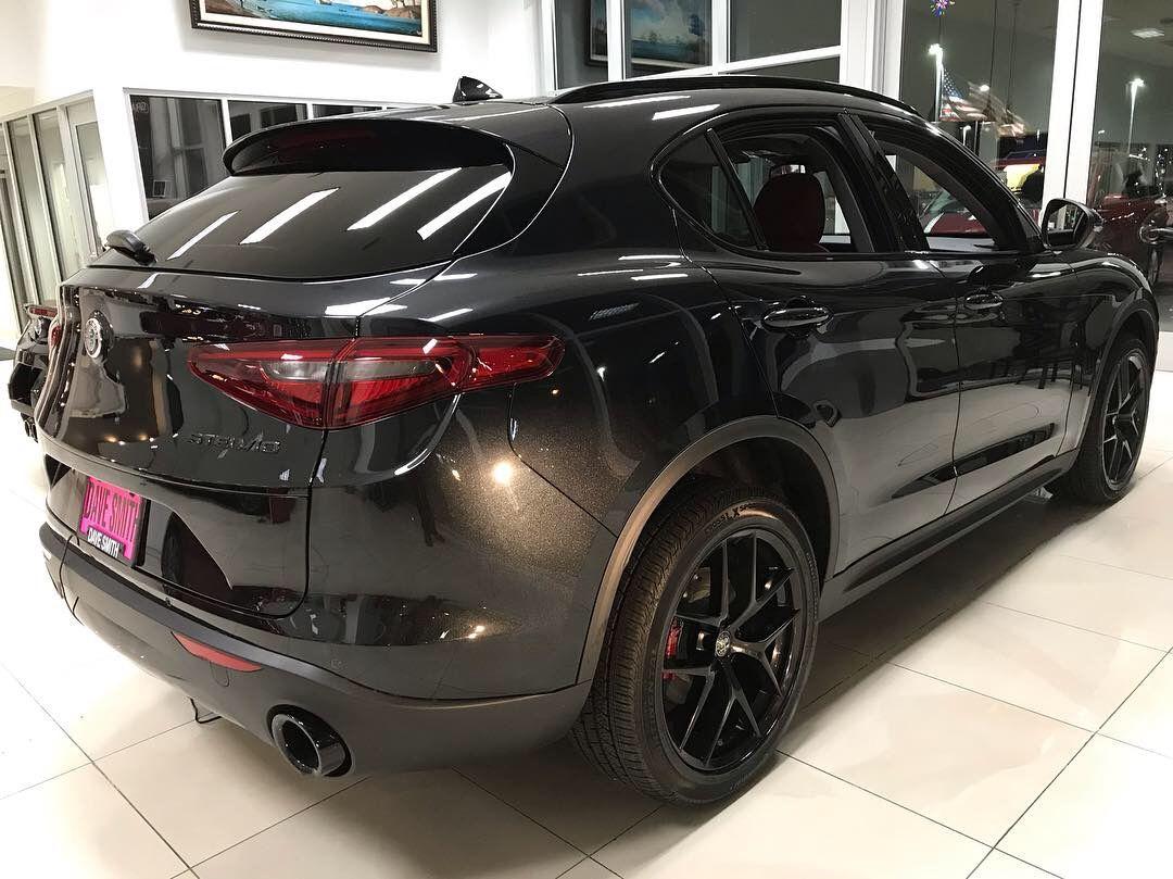 The New 2019 Stelvio Nero Editions Are Here Black W Italian Red Leather Call Me 208 714 9425 Cda Coeurdalene Stelvio Ita Alfa Romeo Awd Coeur D Alene
