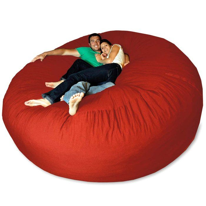 An Enormous Bean Bag Chair. This Would Be Awesome In A Big Finished  Basement/entertainment/rompus Room
