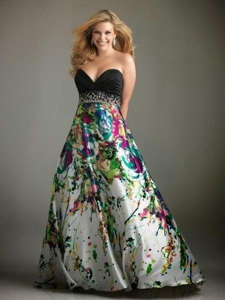 hermosos vestidos de fiesta para gorditas