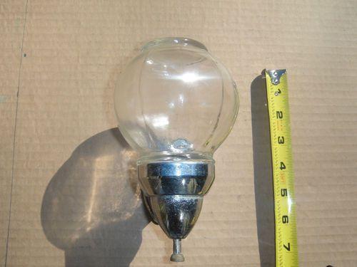 Old Vintage Wall Mount Glass Globe Chrome Metal Hand Soap Dispenser Ebay Glass Globe Hand Soap Dispenser Vintage Walls