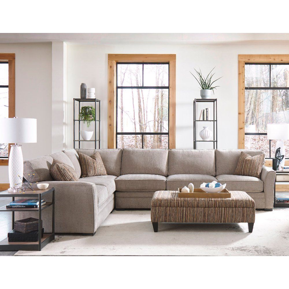 gray 4 piece sectional sofa with laf loveseat scorpio in 2019 rh pinterest com
