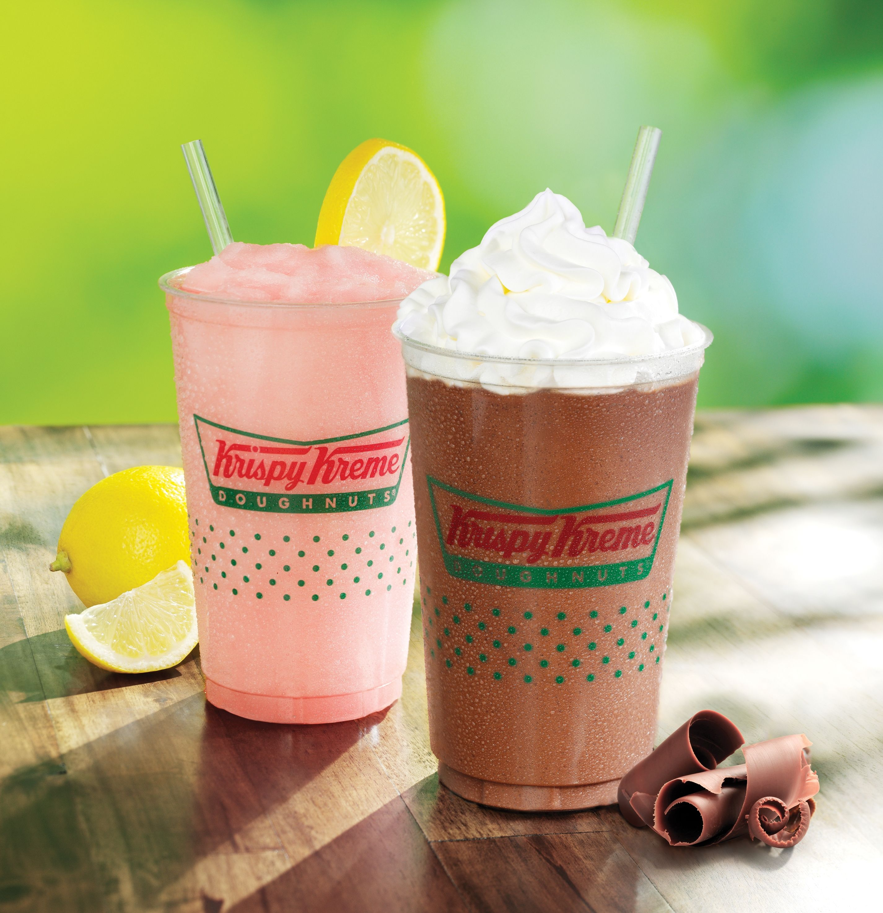 Retreat at your favorite Krispy Kreme and try our new Chillers ...