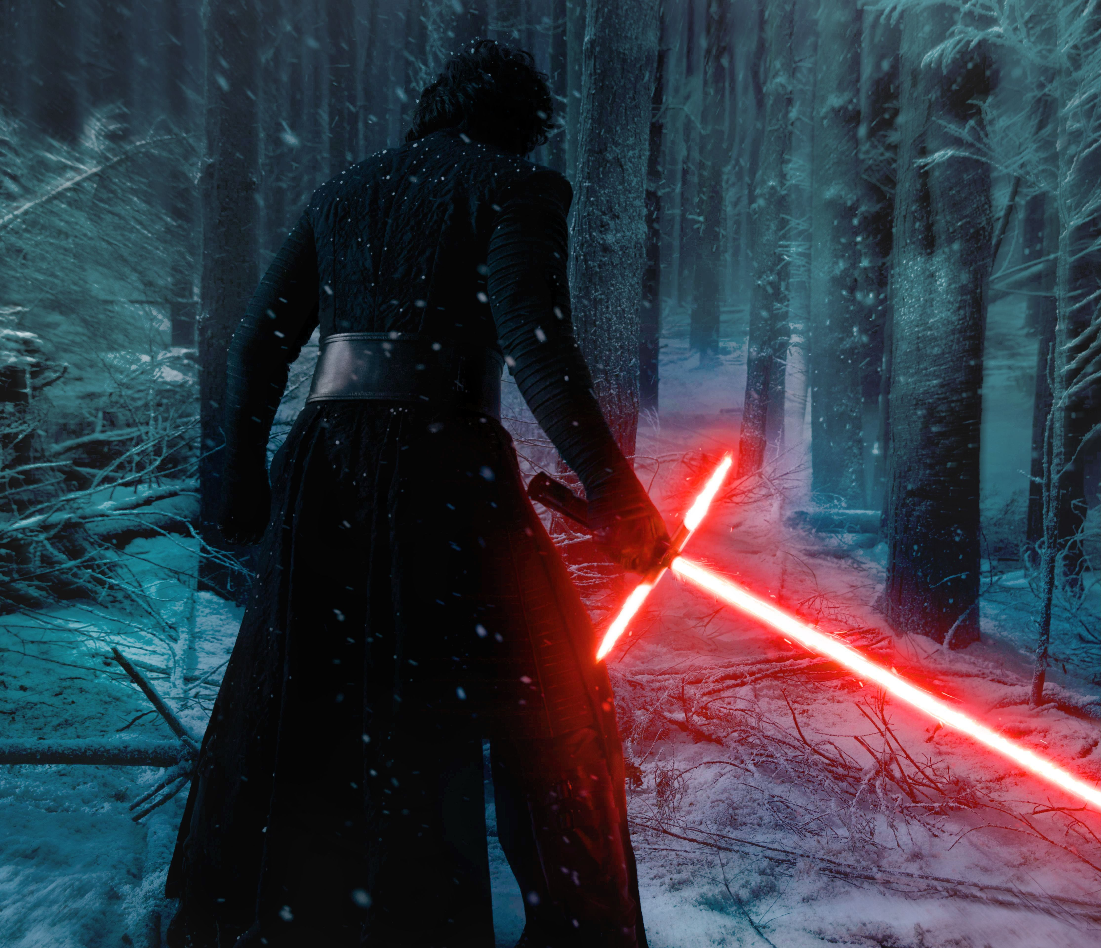 Star Wars The Force Awakens Kylo Ren Forest by Ratohnhaketon645