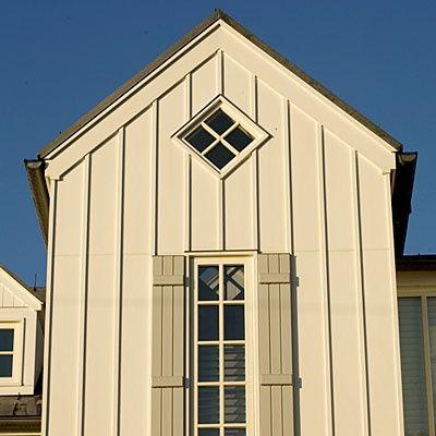 Diy Yellow Swedish Clock Board And Batten Exterior House Siding Options House Siding