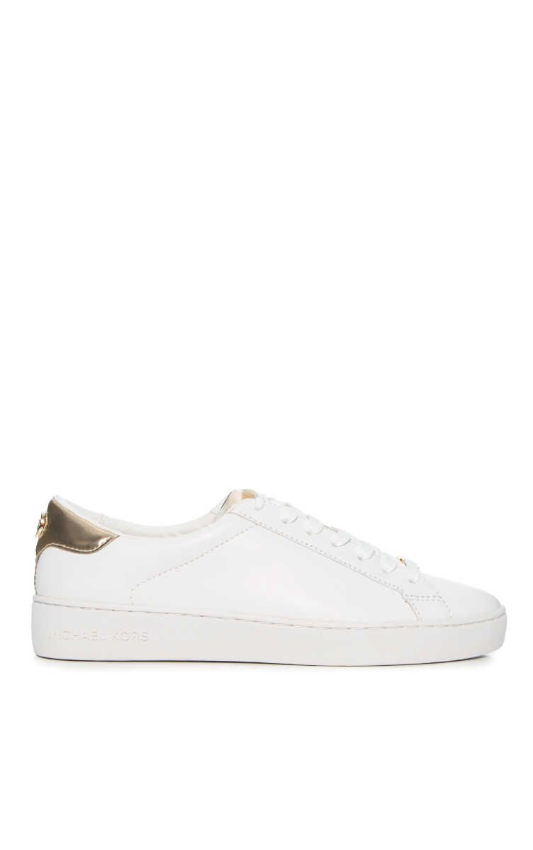 Sneakers Irving Lace Up OPTIC WHITEPALE GOLD Michael