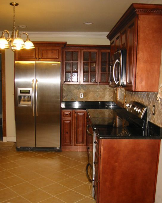Kitchen Cabinets Order Online: Kitchen Cabinet Kings' Finished Kitchen
