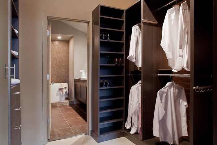 Master bathroom with walk in closet google search for Closet bathroom suites