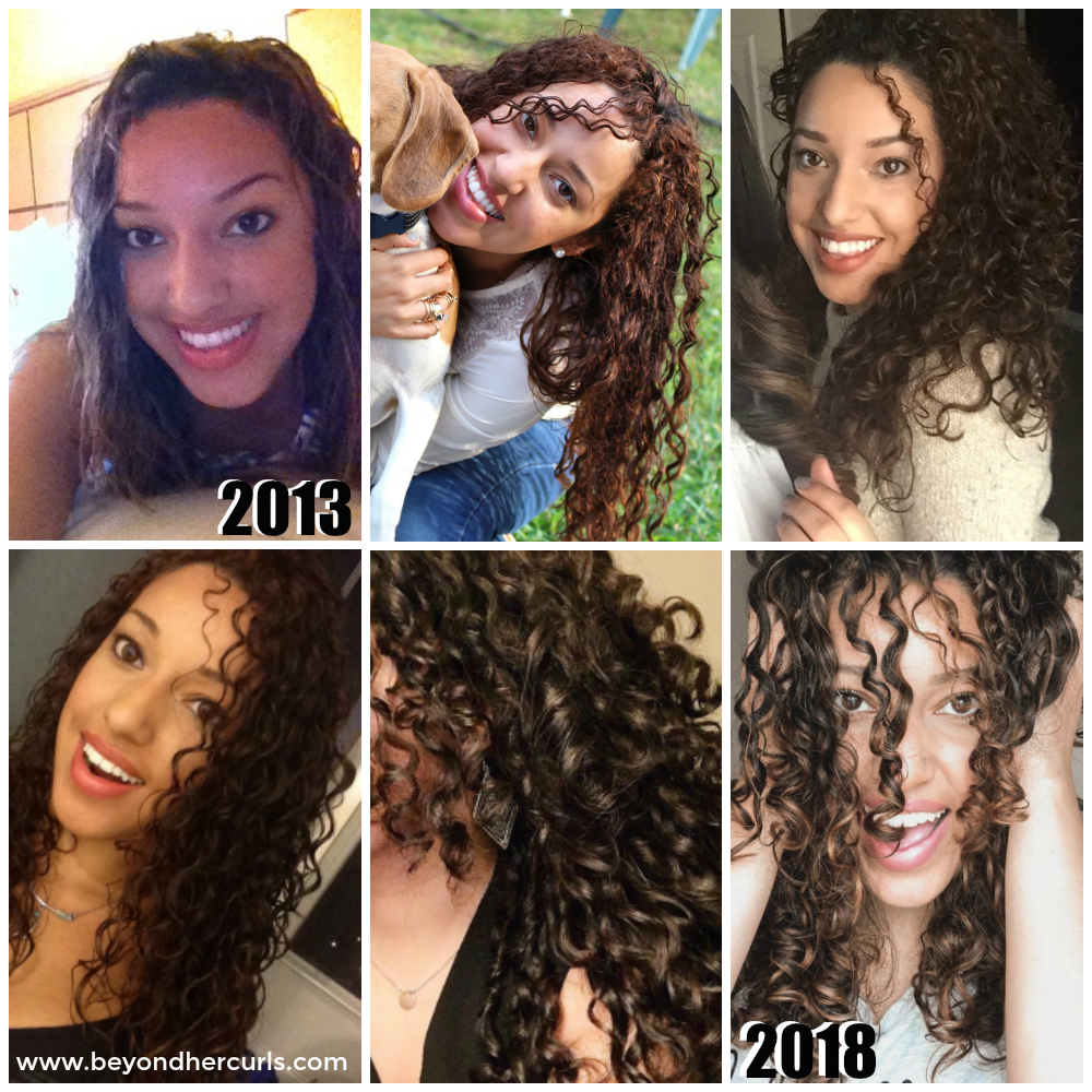 Starting Your Curly Hair Journey Curly Hair Styles Oil For Curly Hair Relaxed Hair Journey