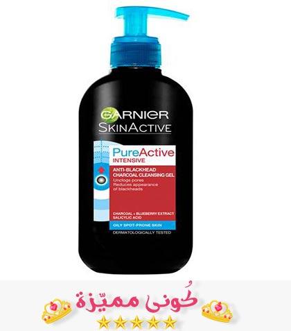 غسول غارنييه بالفحم للوجه و البشرة الدهنية الفوائد و السعر غسول غارنيه بالفحم افضل غسول للبشرة غسول للبشرة الدهنية Garnie Lotion Shampoo Bottle Shampoo