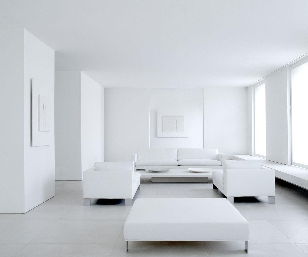 Monochrome scheme minimal interior design henry bourne for Minimal wohnen