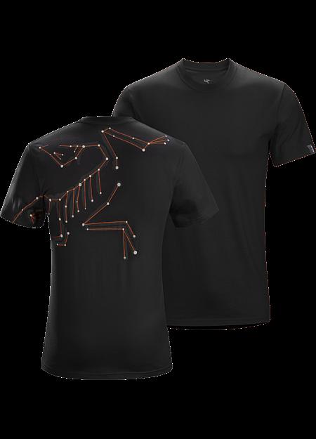48a5ef875 Star-Bird T-Shirt Men's Men's short-sleeve cotton T-shirt with an Arc'teryx  bird…