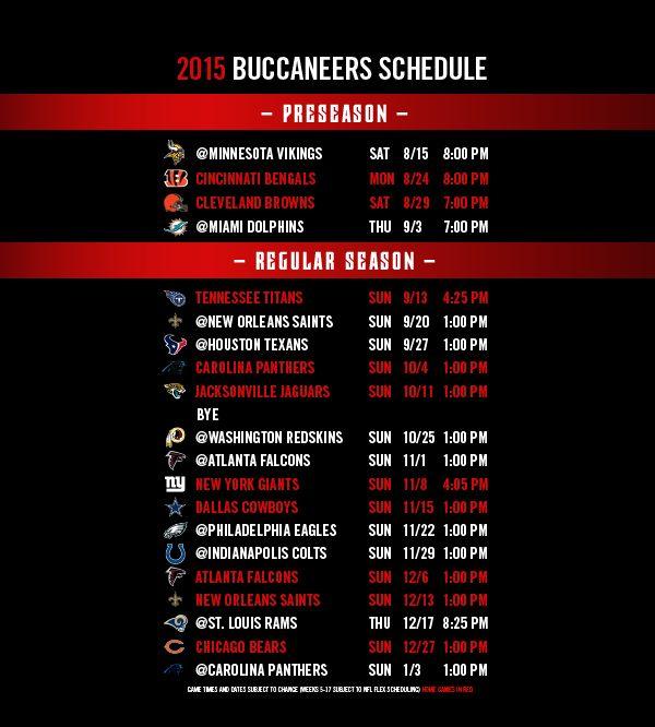 Repost Bucs Kick Off The 2015 Regular Season At Home Vs The Tennessee Titans Nflschedule Tampa Bay Buccaneers Buccaneers Tampa