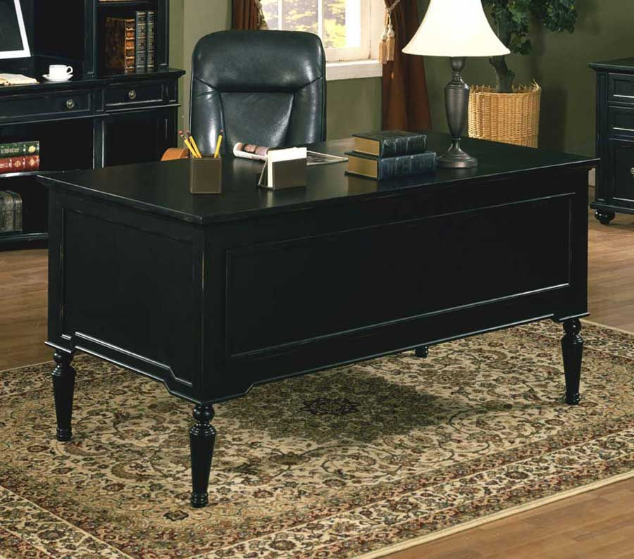 Black Executive Desk | Superior Executive Desk | Pinterest | Desks