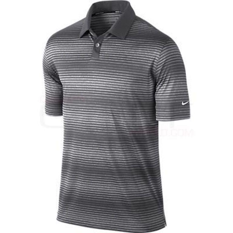 Nike 040 Performance Golf Polo Shirt ( Striped Blue)