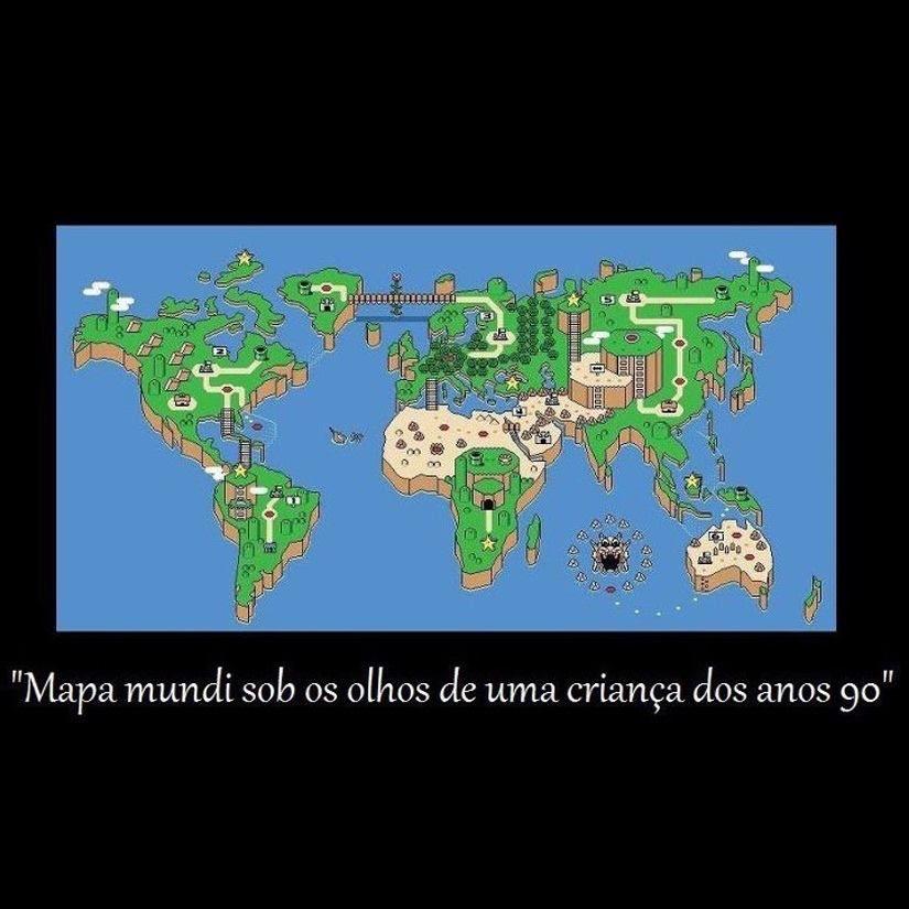 Como eu vejo o mundo!