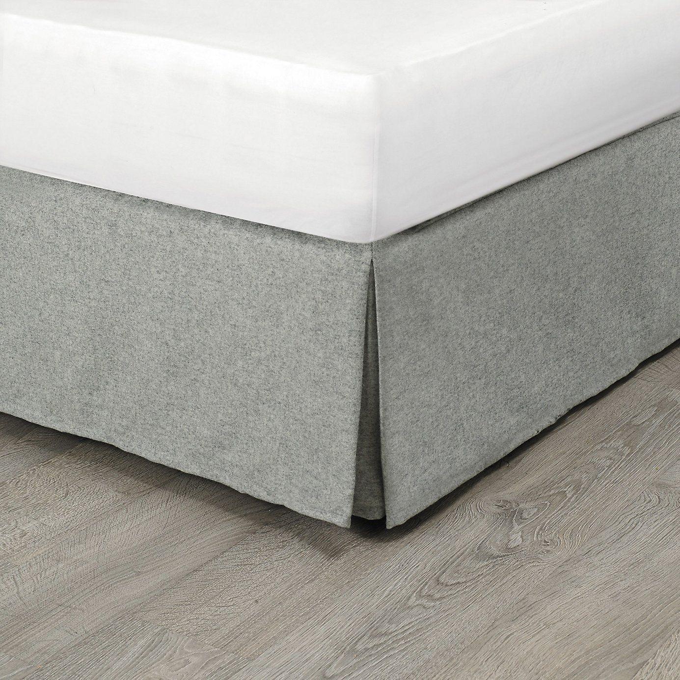 Barbara Egyptian Cotton Bed Linen Valance