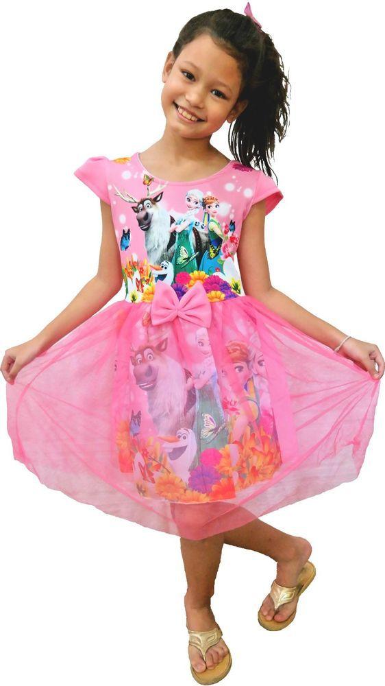 Details zu Mädchen Kinder Frozen Disney Eiskönigin Prinzessin Anna ...