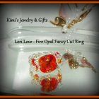 Ring - want a ring that is on fire? fire opal fancy cut. rare and retired stones from swarovski. I have the last lot of them. they are gorgeous. Perfect color for fashions this time of year. Cut and sparkle are amazing. to customize your own Lori Love ring - http://kimisjewelryandgifts.blogspot.com/2012/08/customize-your-lori-love-ring.html  #SYLink #kimisjewelryandgifts #kidalski