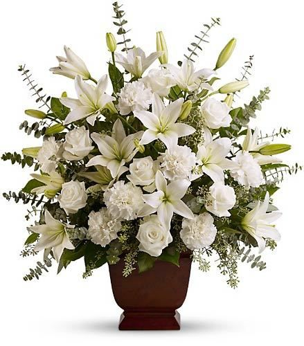View All Funeral Flowers for the Service | Flower Arrangement ...
