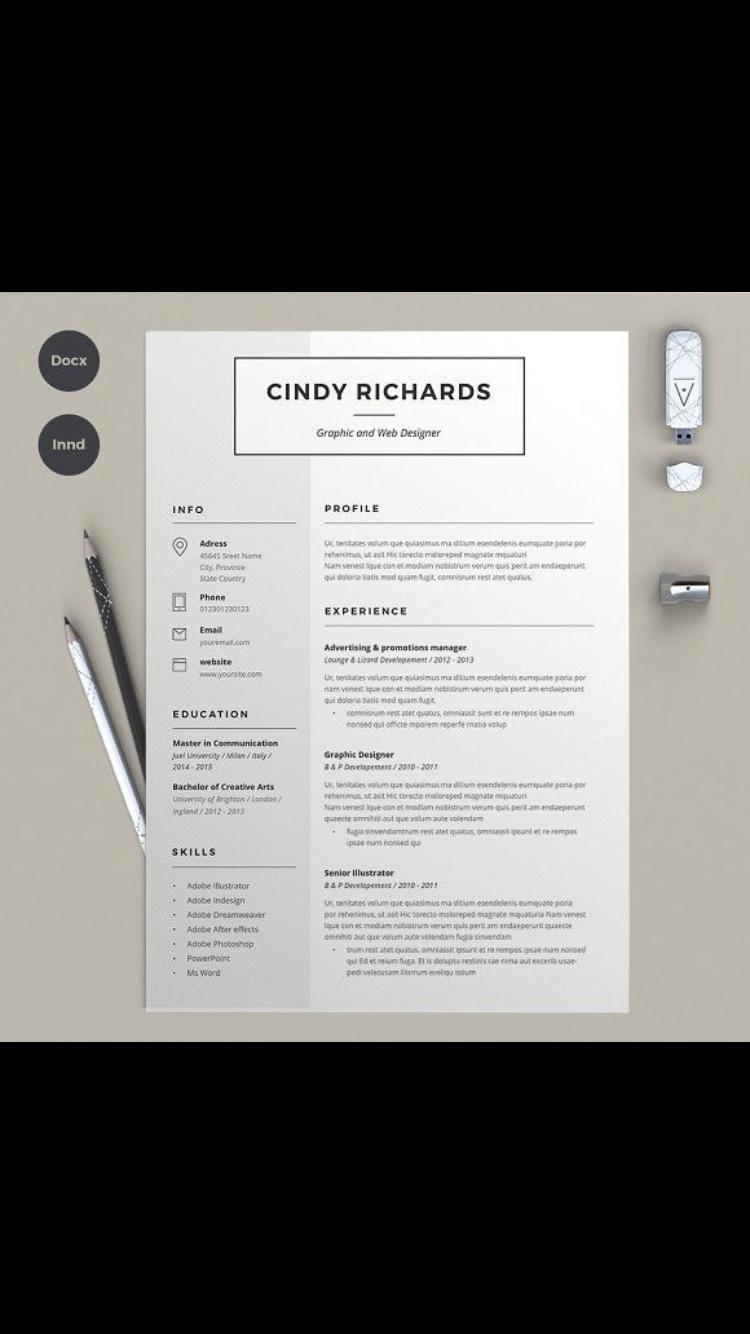 Pin By Luma On Resume Resume Design Free Resume Design Template Resume Design