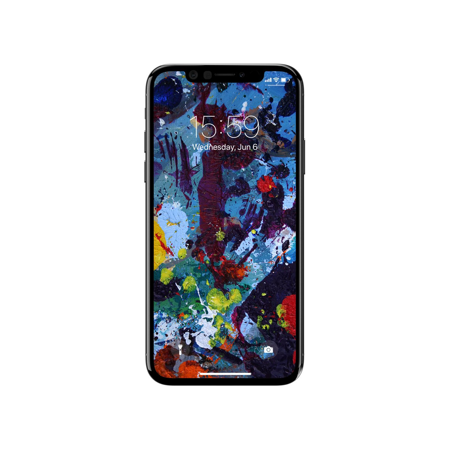 Abstract Painting Wallpaper For IPhone X Www