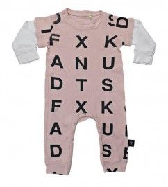 Play Suit *Alphabet* NUNUNU