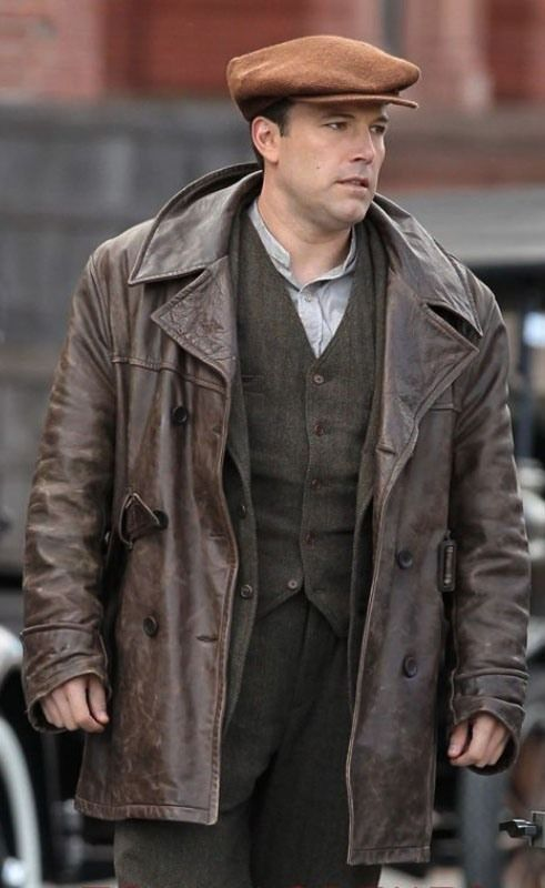 Ben Affleck Live By Night Jacket Mens Leather Coats Jackets