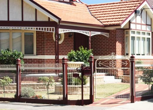 Fences - Galleries - Emu Wire Industries | Front fences | Pinterest ...