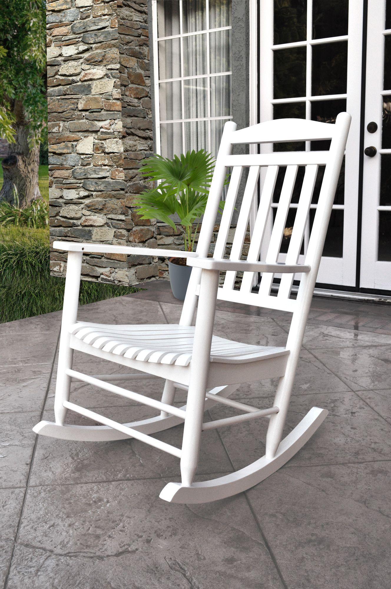 Shine Company Inc. Maine Porch Rocker Chair & Reviews