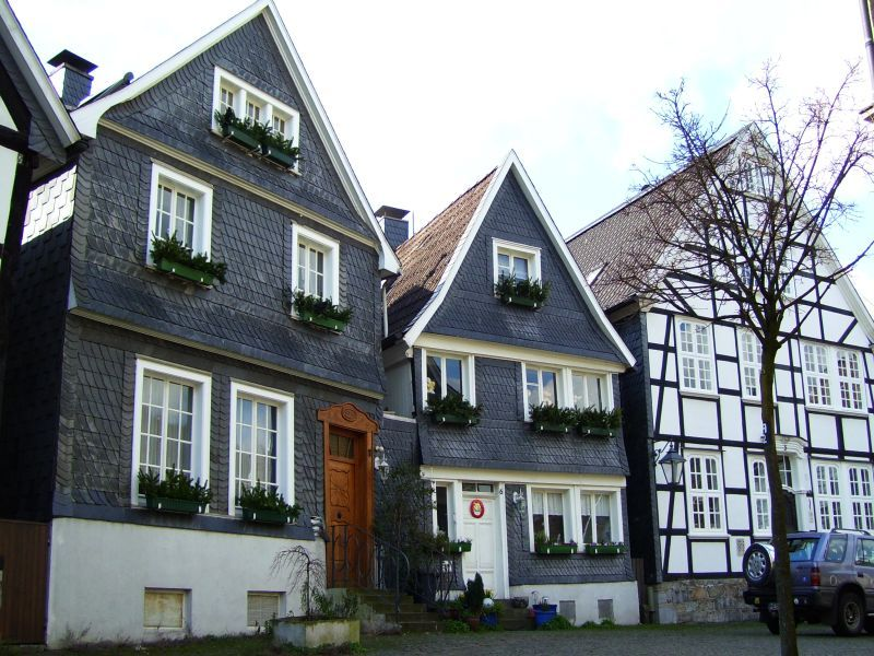 These Are Two Types Of Classic German Houses Two Are