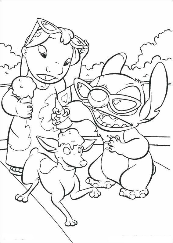 Desenhos para colorir Lilo e Stitch 15 | Coloring pages | Pinterest ...