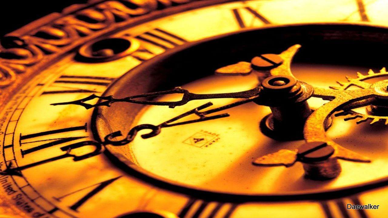 Almost Here Clock Wallpaper Clock Mechanical Clock