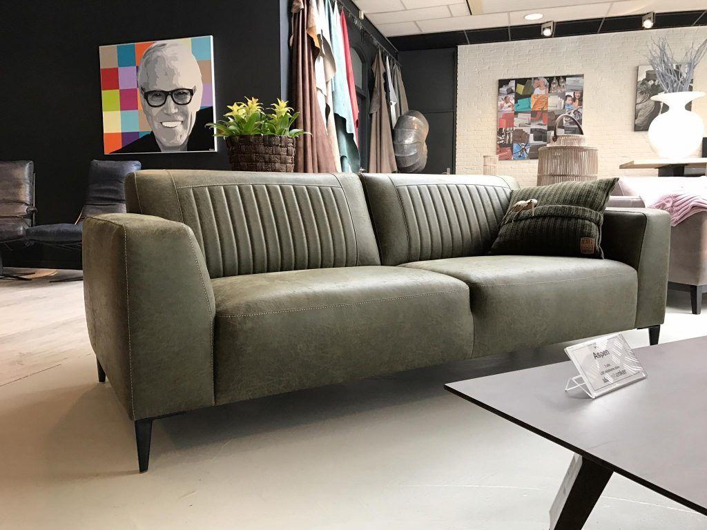 Design Hoekbank Van Leer.Stoere Bank Aspen In De Aanbieding Bij Mokana In Oklahoma Olive
