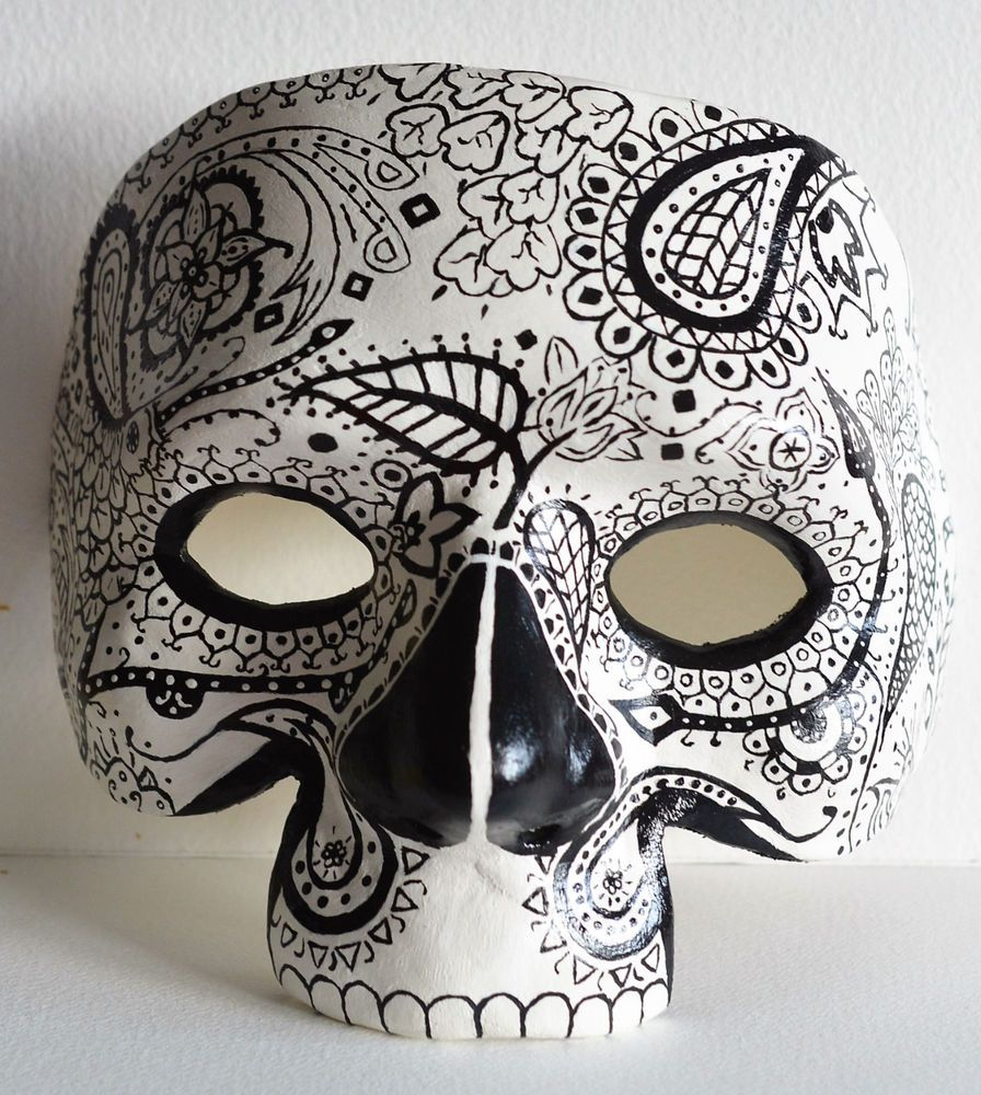GBP3999 Day Of The Dead Mask On Ebay