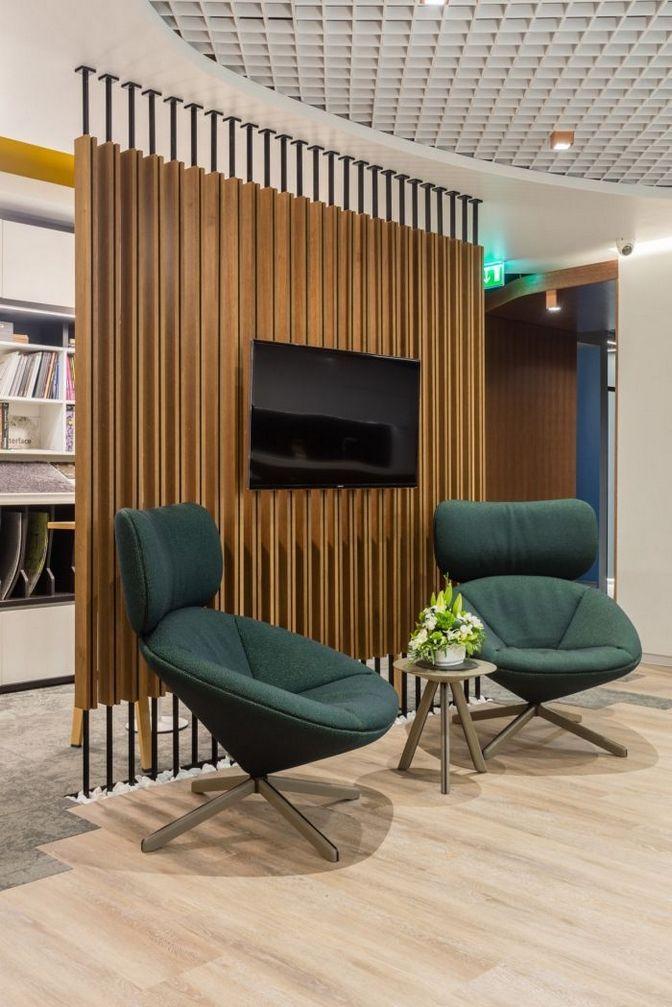 ↗ 100+ Elegant Modern Office Design Inspirations 25