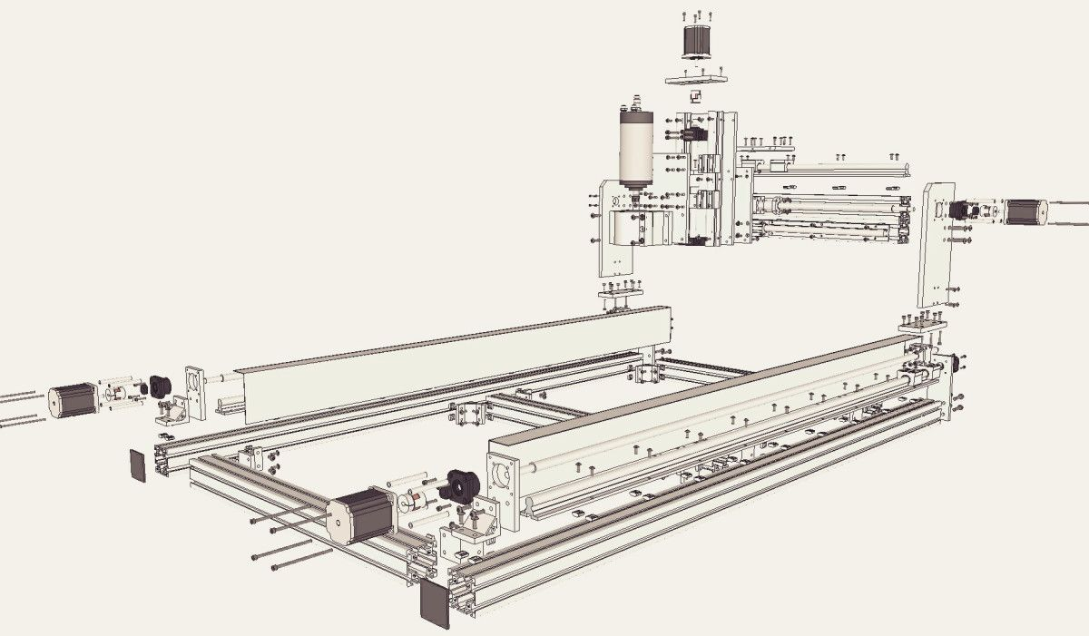 Id2cnc Cnc Router Plan V 2 1 Cnc Plan Price 24 99 Buy It From Ebay Buy It Through Paypal