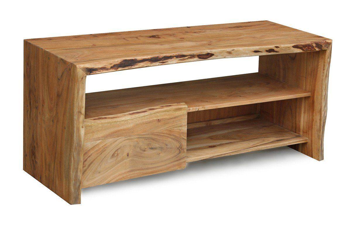 Wohndesign möbel kasperwohndesign tvboard akazie massivholz baumkante live edge