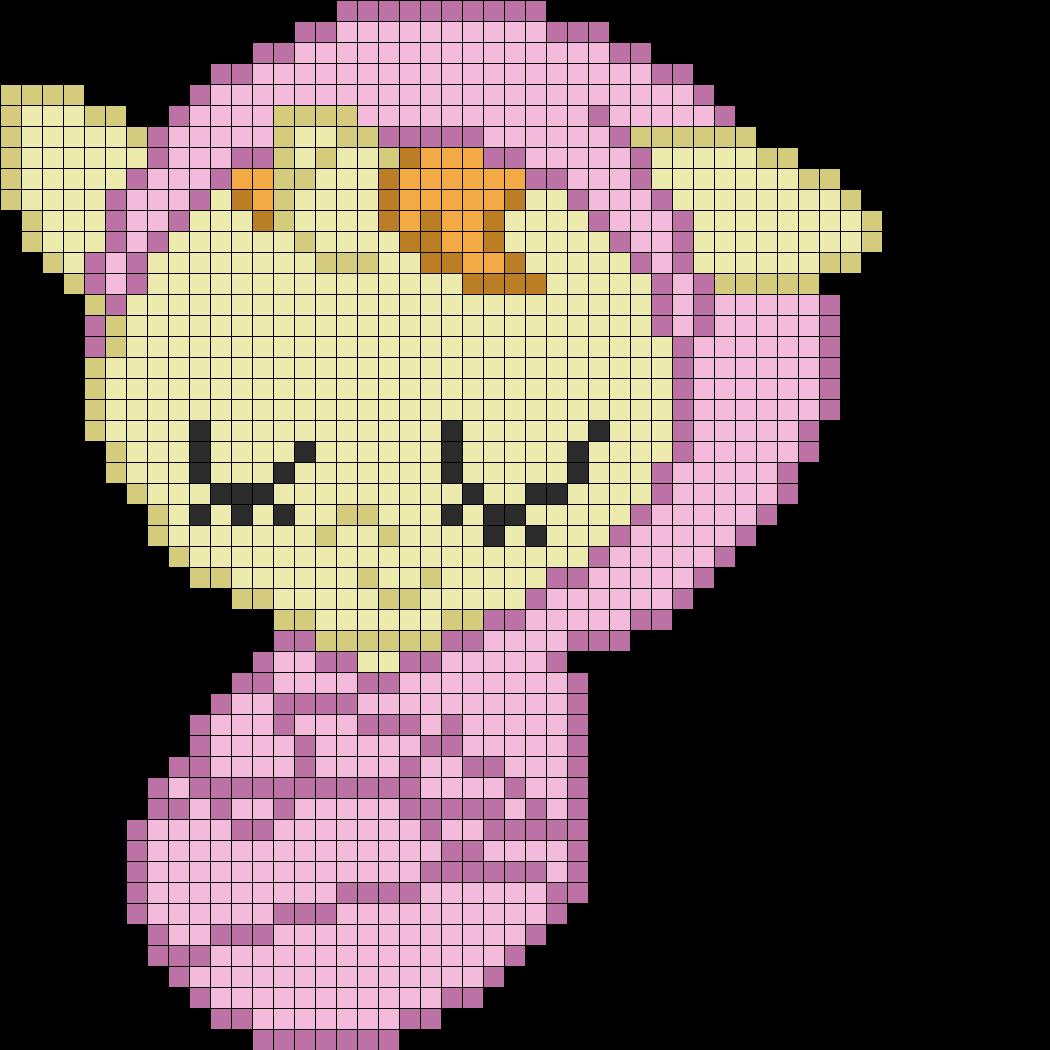 Cake Pixel Art Template : MLP Baby Pumpkin Cake perler bead pattern Perler - My ...