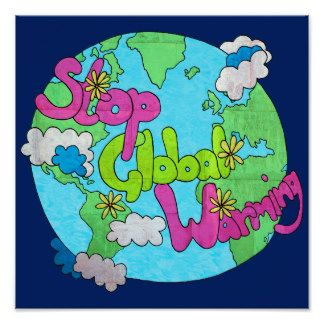 Stop Global Warming Textured Square Poster Global Warming Drawing Save Earth Posters Earth Drawings
