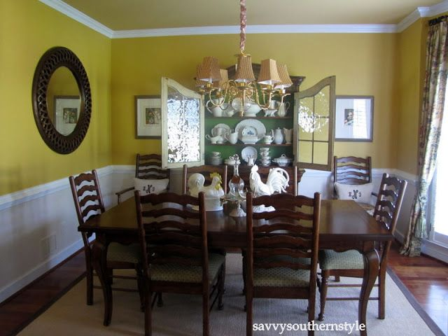 Red Wall Gold Ceiling Dining Rooms  Dining Room Wall Color Is Awesome Red Wall Dining Room Inspiration