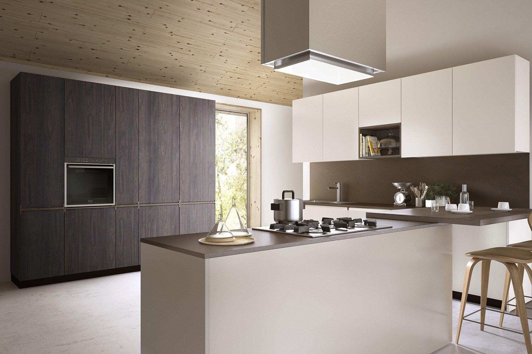 GIBILTERRA Cucina con maniglie integrate by Del Tongo design Egidio ...