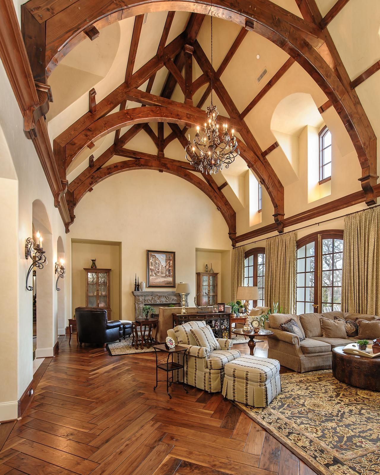 Tour A French Chateau Style Home In Dallas Boston