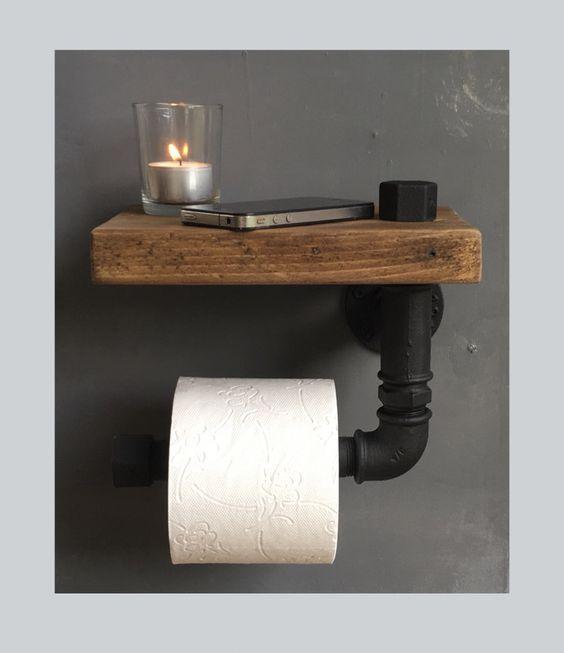 Toiletrolhouder #halinrichting