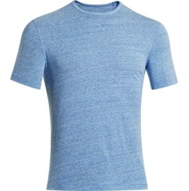 Under Armour HeatGear Tri Blend Graphic Blue Ladies Sports T shirt M