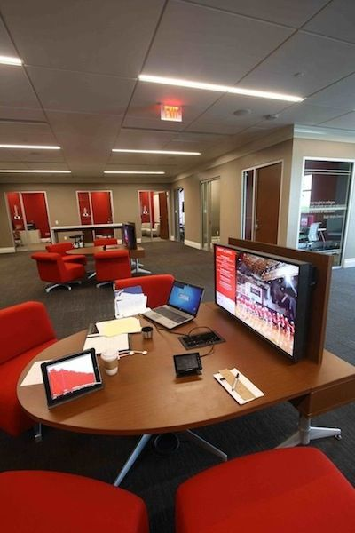 Photos: Turning the Library Into a High-Tech Collaborative ...