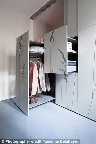 Teeny 86sq Ft Apartment Contains Foldaway Wardrobe Bed And Bathroom Ideas For Home Sweet Home