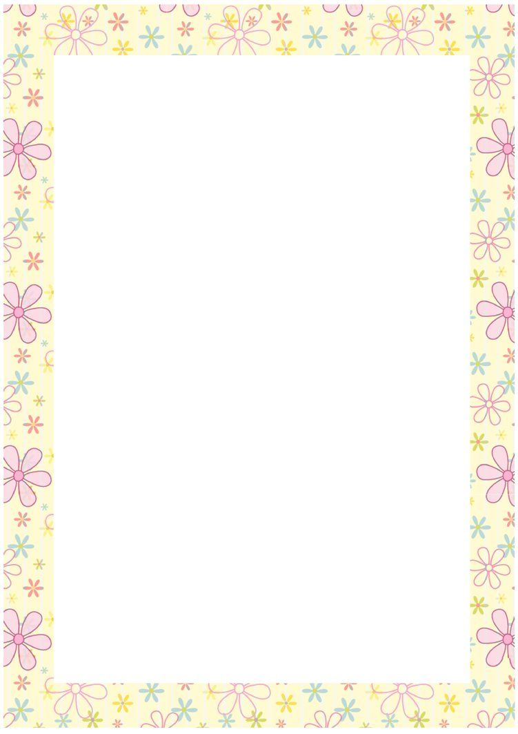 Stationery Paper – Bordered Paper Printable
