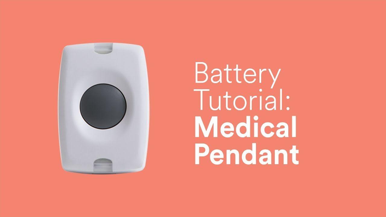 Battery Tutorial Medical Pendant (Panic2) Tutorial
