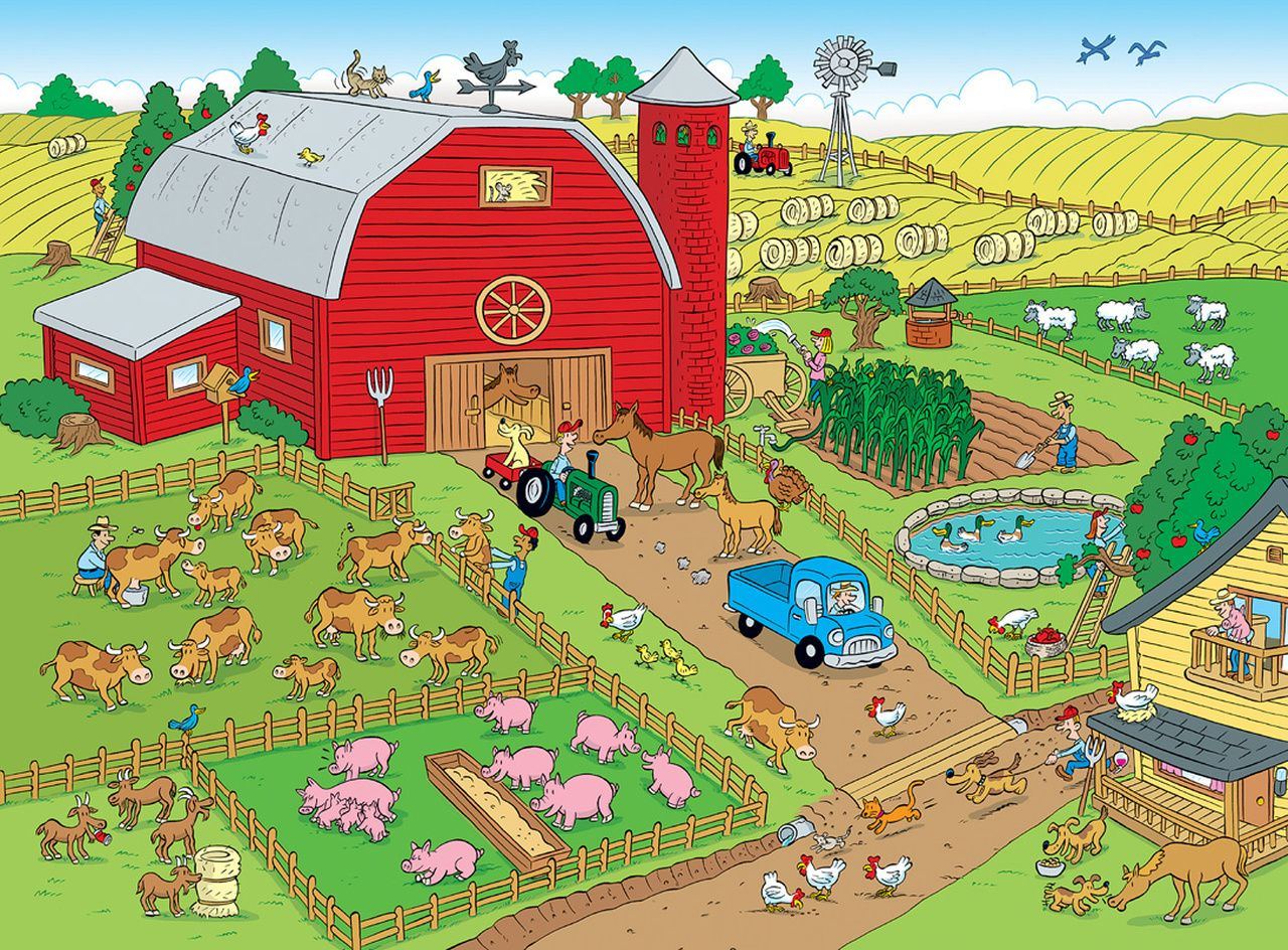 101 Things To Spot On The Farm