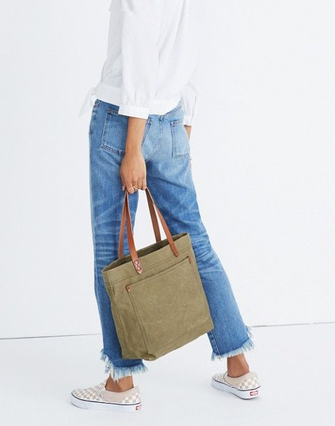 27036e337 The Canvas Medium Transport Tote in 2019 | Wish List | Madewell ...